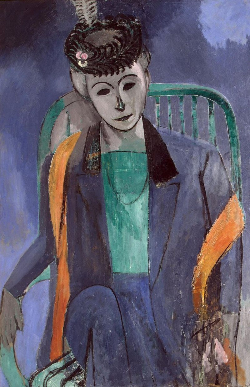 Bức tranh Portrait of the Artist's Wife.jpg