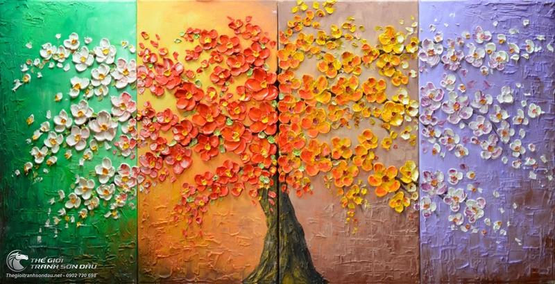 Hơn 3.000 bài thơ tình Phạm Bá Chiểu - Page 20 Bo-tranh-4-buc-bon-mua-xuan-ha-thu-dong