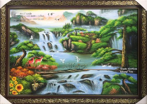 Tranh Phong Cảnh Sơn Thủy