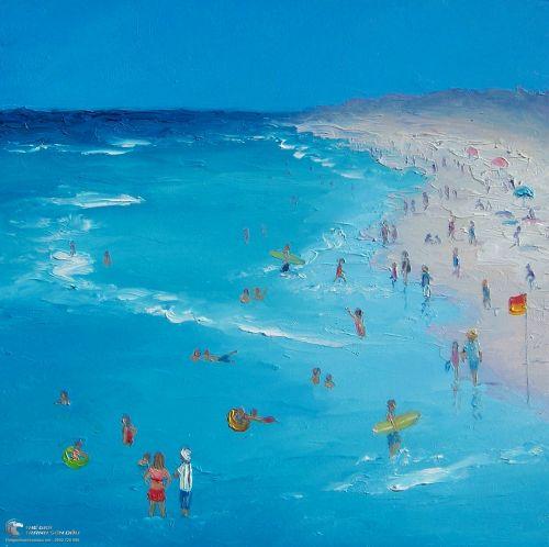 Tranh Vẽ Cảnh Biển Vào Mùa Hè